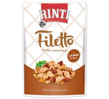 Kapsička RINTI Filetto kura + jahňa v želé 100 g