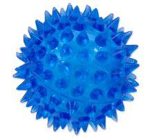 DOG FANTASY loptička modrý 5 cm 1ks