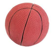 DOG FANTASY Latex basketball lopta so zvukom 7,5 cm 1ks