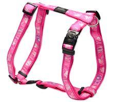 ROGZ postroj H Fancy Dress Pink Paw XL 1ks