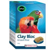 Ílový blok Versele-LAGA Clay Bloc Amazon River pre väčšie papagáje 550g