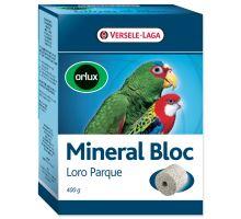 Minerálne blok Versele-LAGA Loro Parque lisovaný grit s koralmi veľké papagáje 400g