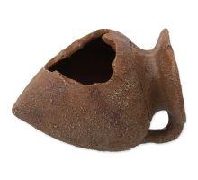 Dekorácie AQUA EXCELLENT Amfora hlinená 10,5 cm 1ks