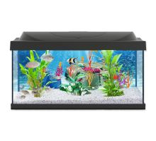 Akvárium set TETRA PLAYMOBIL LED čierny 61 x 36 x 32 cm 54l