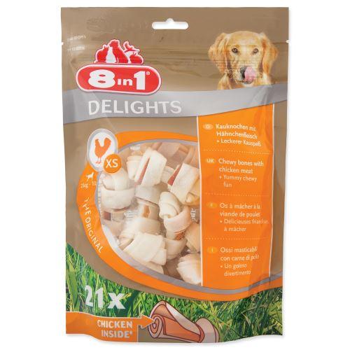 8 in 1 Delights žuvacie kosti XS bag 21ks