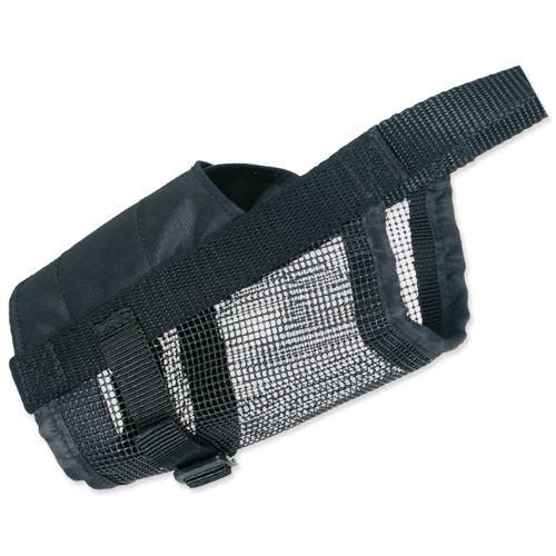 Náhubok nylonový so sieťkou, polyester, čierny L-XL (doga)